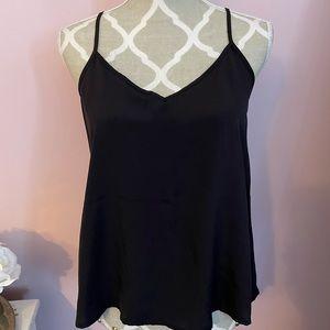 Silky black blouse brand new